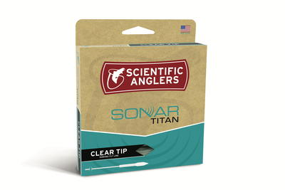 Sonar Textured Titan Clear Tip