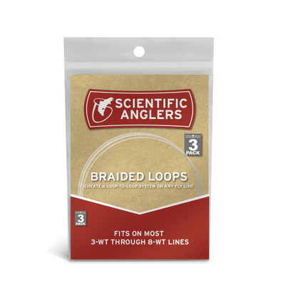 Braided Loops - 3 Pack