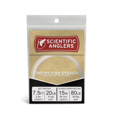 Toothy Fish Stealth 7.5ft AR Tapered Leader