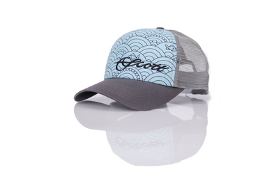 Scott Cap Womens Mesh Wave Logo